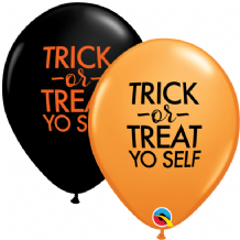 "Halloween Balloons - 11"" Simply Trick-Or-Treat (25pcs)"